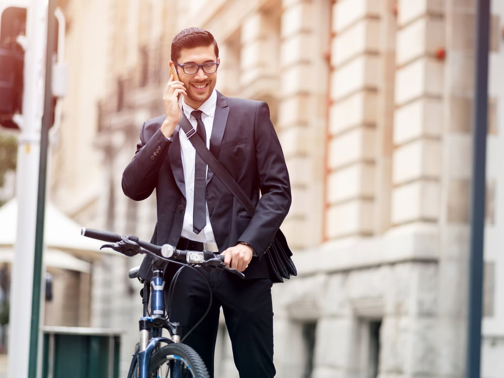 Sustainable lifestyle hack — bike to work