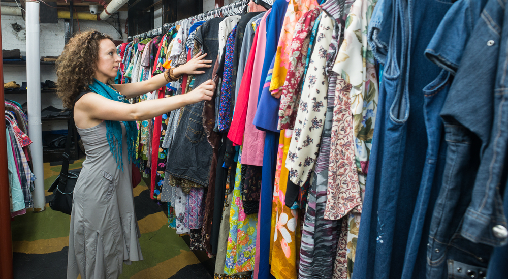 look good for less — thrift store shopping