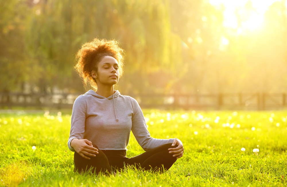 meditating for mental health
