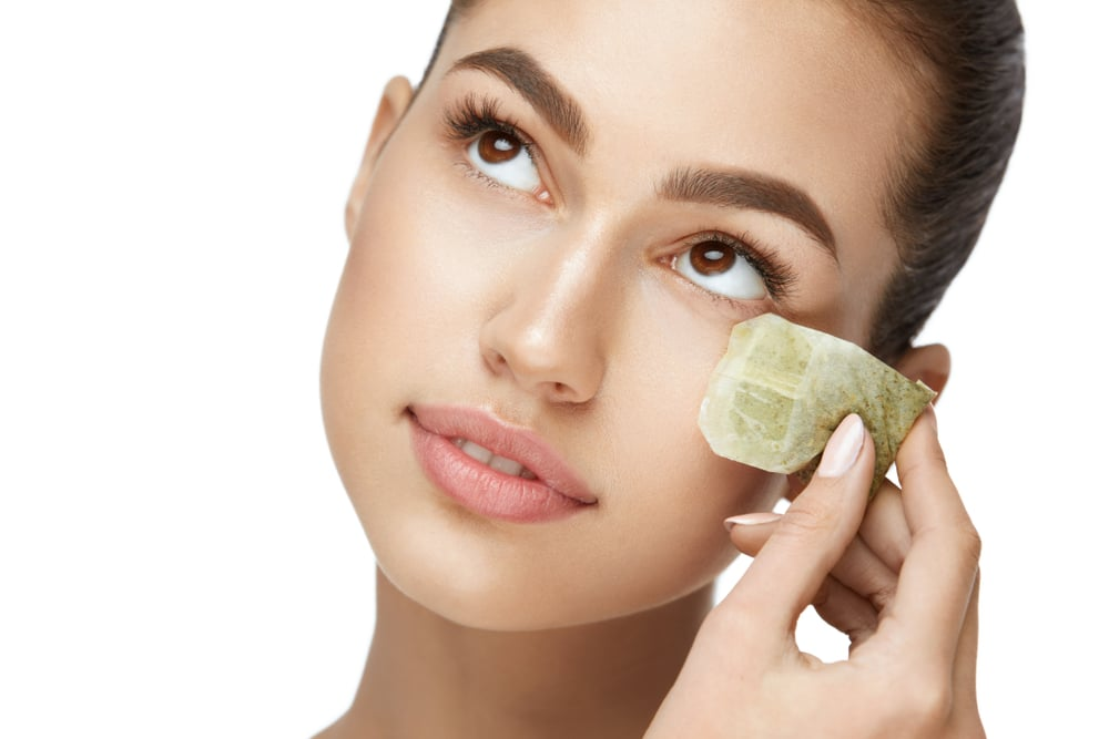 green tea for acne removal